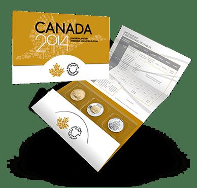 2014 - Canada Uncirculated Set