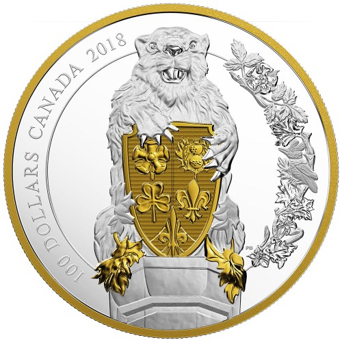 $100 FINE SILVER COIN KEEPERS OF PARLIAMENT