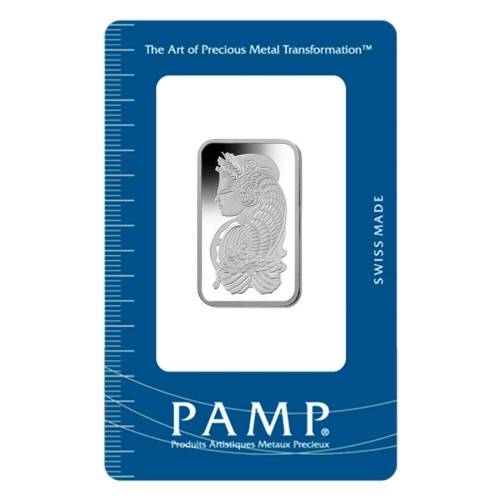 20 gram PAMP Suisse Fortuna Platinum Bar in Assay