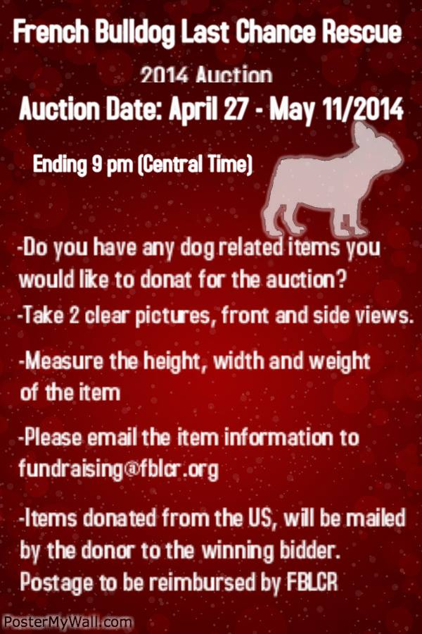 FBLCR Auction Donations Needed