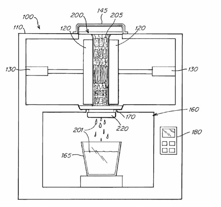 Il brevetto di Juicero che offre uno spremiagrumi hi-tech