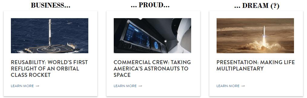 SpaceX: un business disruptive, l'orgoglio USA e il sogno di colonizzare altri pianeti: vi pare poco?