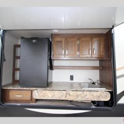 Fifth Wheel Campers With Bunkhouse And Outdoor Kitchen Island On Wheels Seating