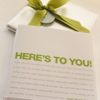 Here's To You Box - bumble B design, Seattle, WA - Administrative Professionals Day Gifts