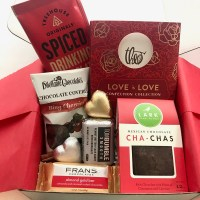 Chocolate Gratitude Box , Valentine's Day, bumbleBdesign, Seattle