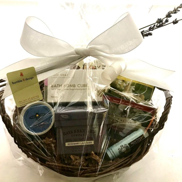 Time Out Basket to promote relaxation