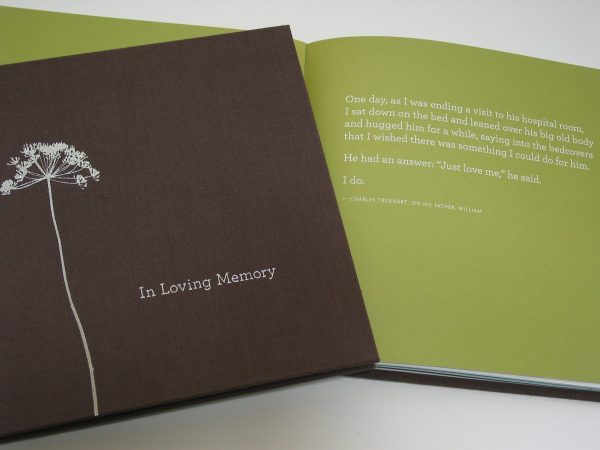 "bumble B design - Condolence Box: ""In Loving Memory"" - Compendium Inc. - Seattle, WA"