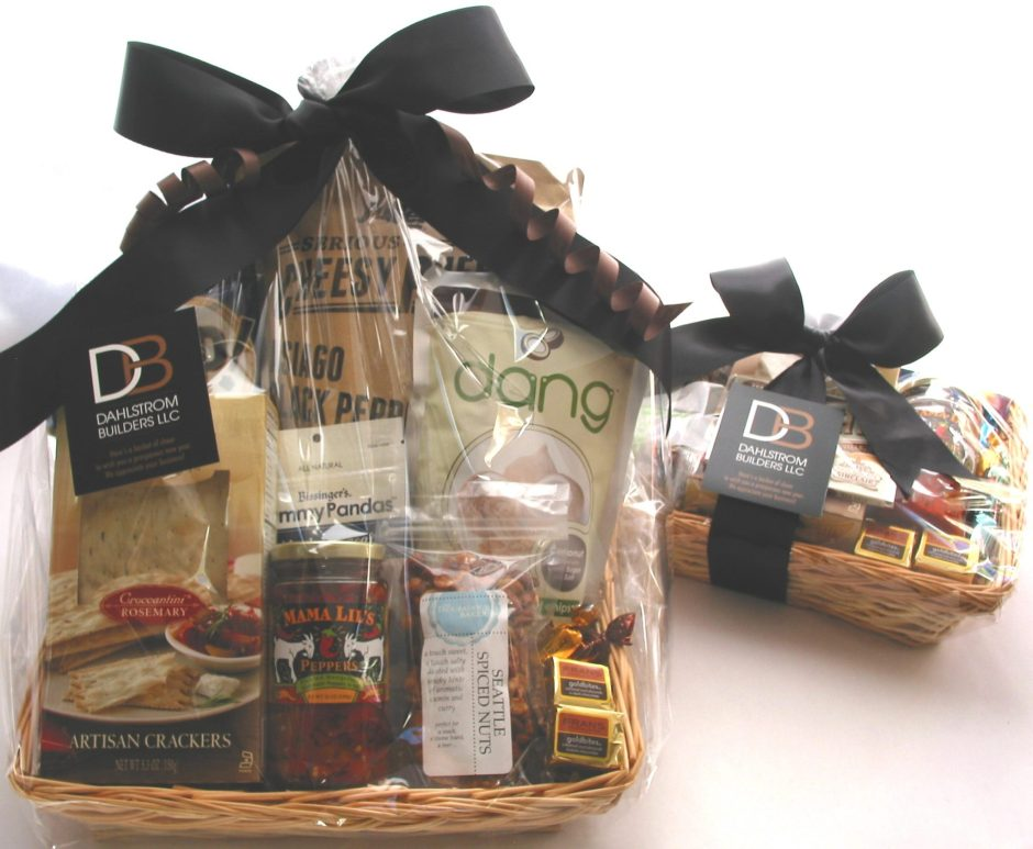 bumbleBdesign-custom Nibbler Baskets - snack gift baskets