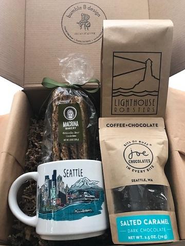 bumbleBdesign - Seattle Coffee Box - with Seattle mug