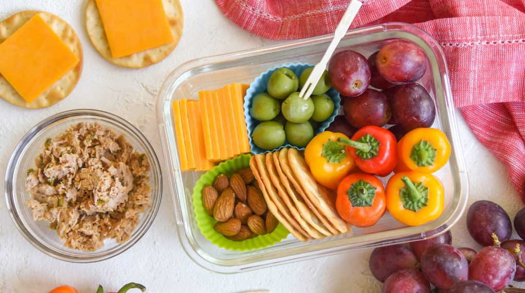 Snack Plate for Lunch