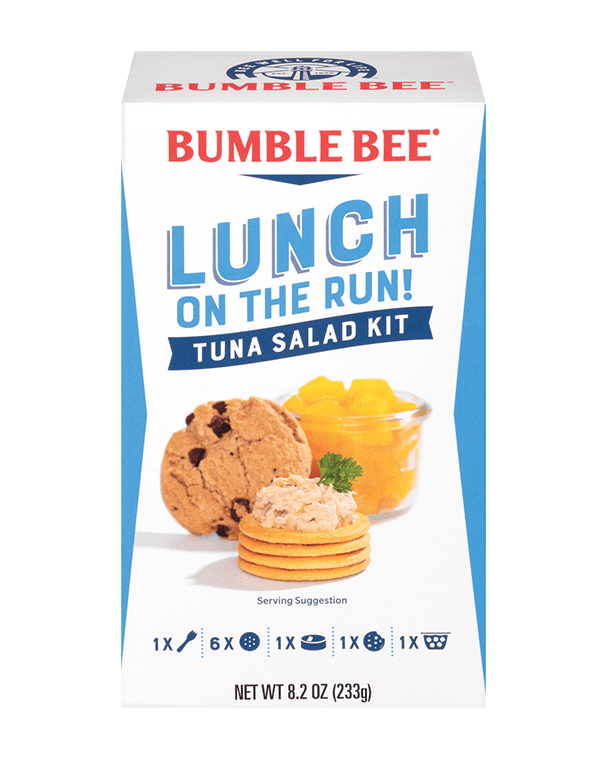 Bumble Bee® Lunch On The Run! Tuna Salad – Complete Lunch Kit