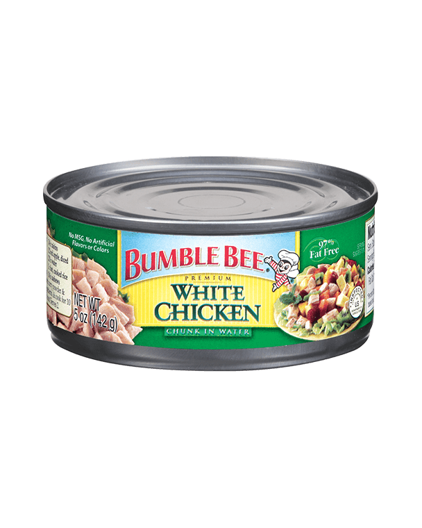 BUMBLE BEE® Premium White Chicken Chunk In Water