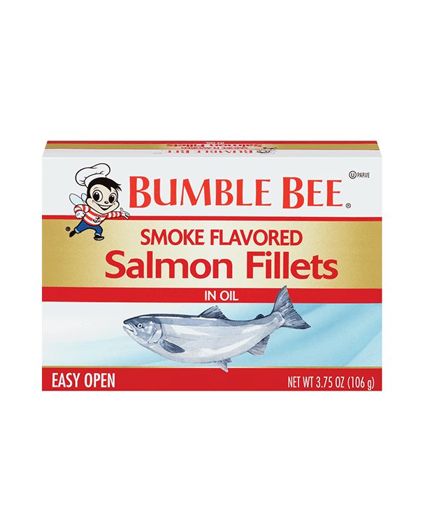 Bumble Bee® Smoke Flavored Salmon Fillets in Oil