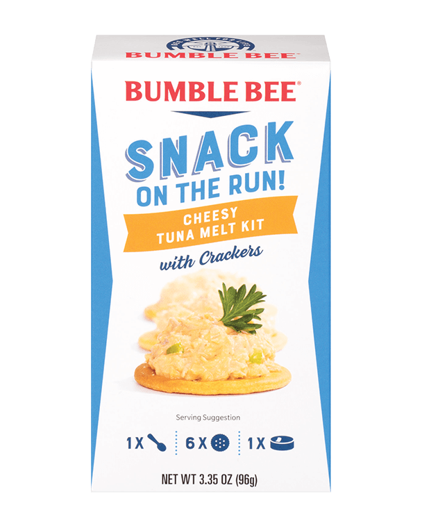 Bumble Bee® Snack on the Run! Chicken in Barbecue Sauce Kit with Crackers