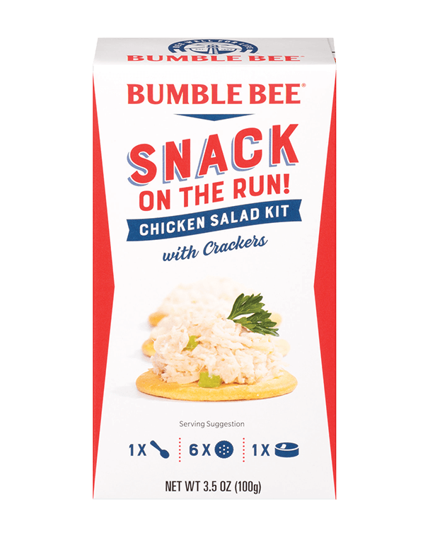 BUMBLE BEE® Snack on the Run! Chicken Salad Kit with Crackers