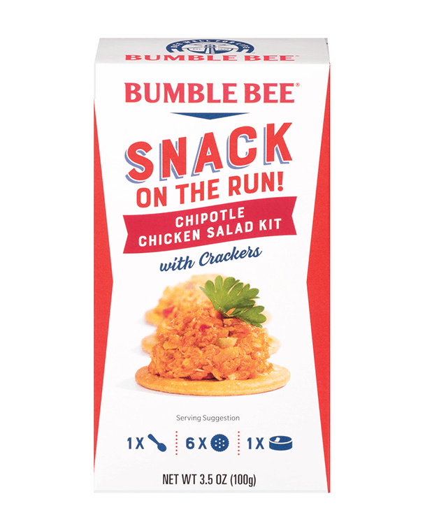 Bumble Bee® Snack on the Run! Chipotle Chicken Salad Kit with Crackers