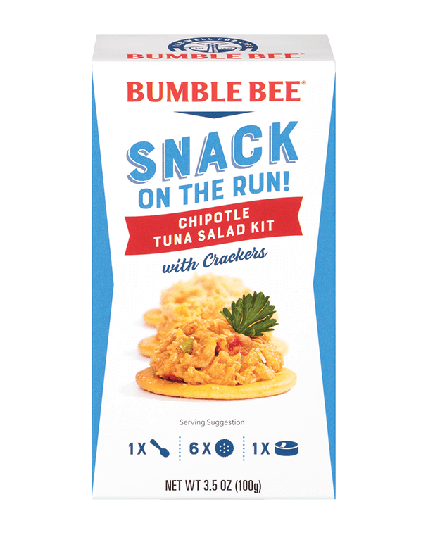 BUMBLE BEE® Snack On The Run! Chipotle Tuna Salad Kit With Crackers