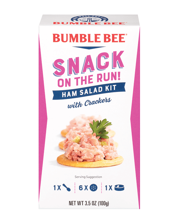 BUMBLE BEE® Snack on the Run! Ham Salad Kit with Crackers