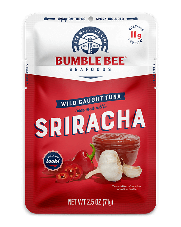 BUMBLE BEE® Sriracha Seasoned Tuna Pouch with Spork