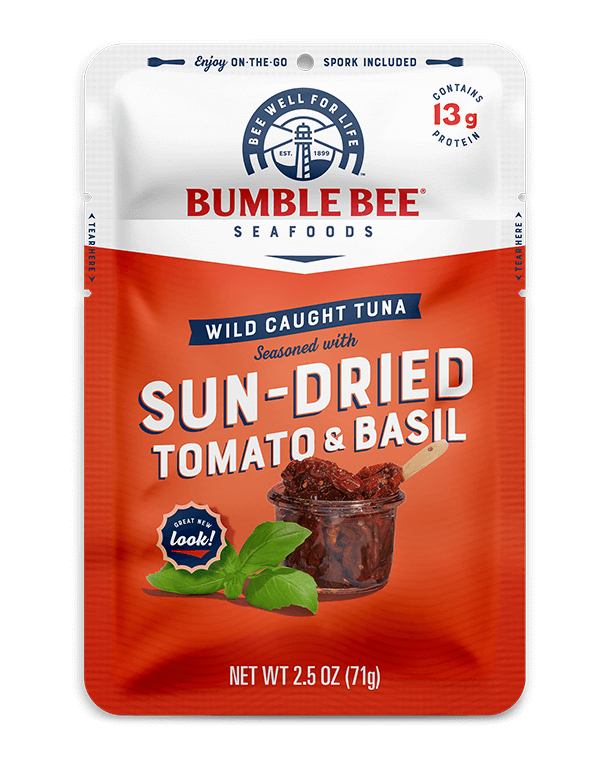 BUMBLE BEE® Sun-Dried Tomato & Basil Pouch with Spork