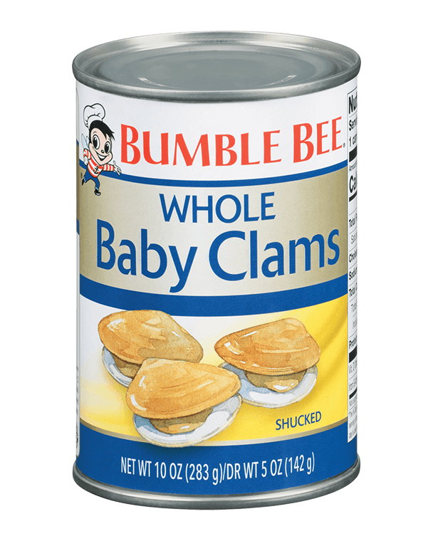 BUMBLE BEE® Whole Baby Clams