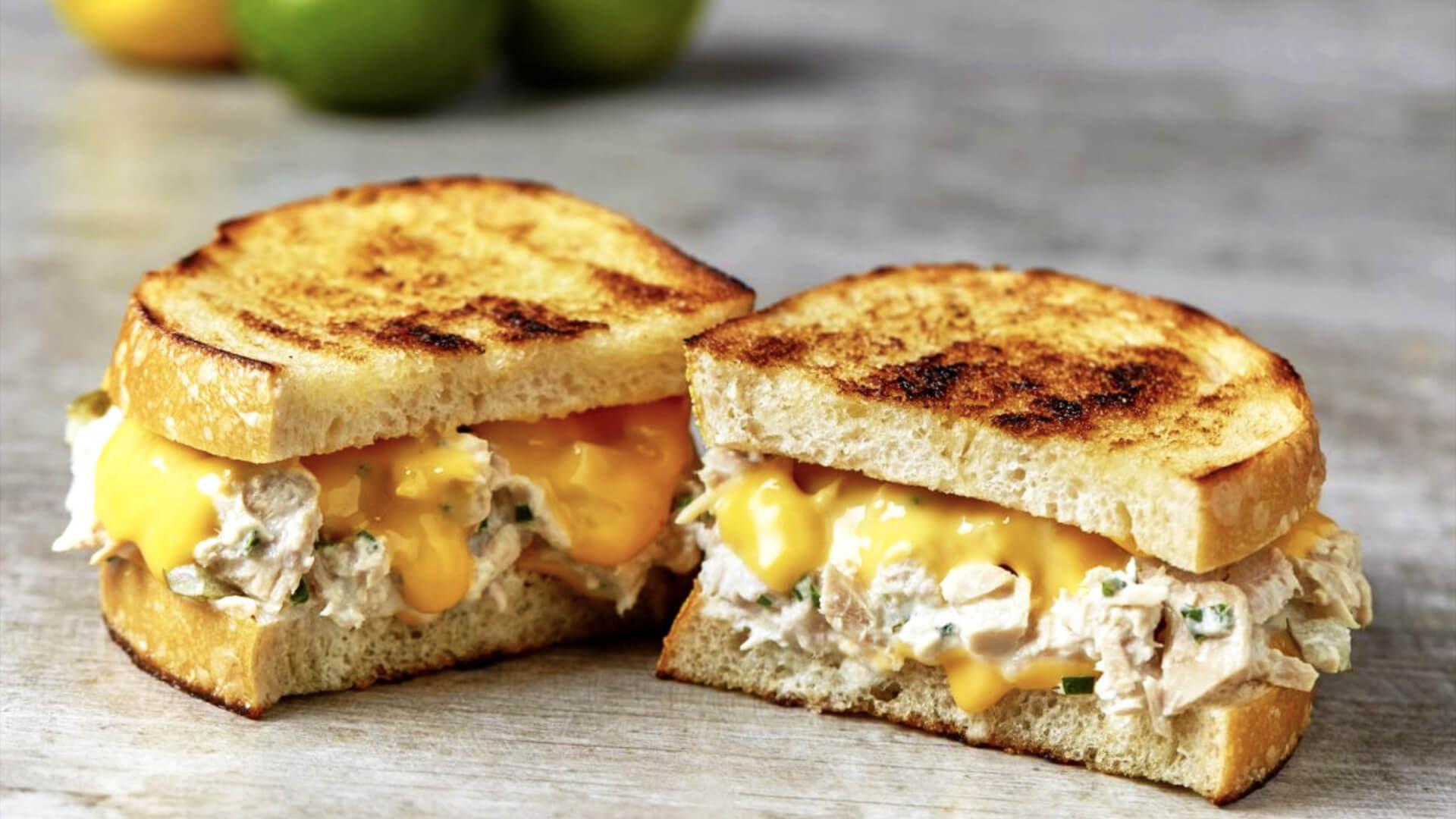 Cheesy Tuna Melt Recipe