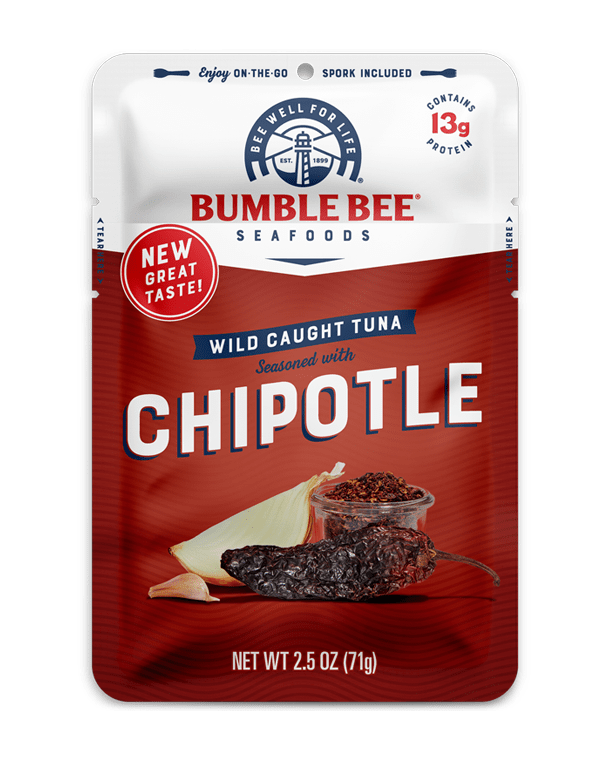 BUMBLE BEE® Chipotle Seasoned Tuna Pouch With Spork