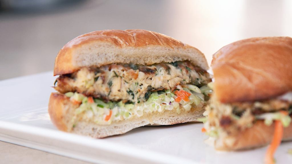 Tuna Po'boy Sandwich