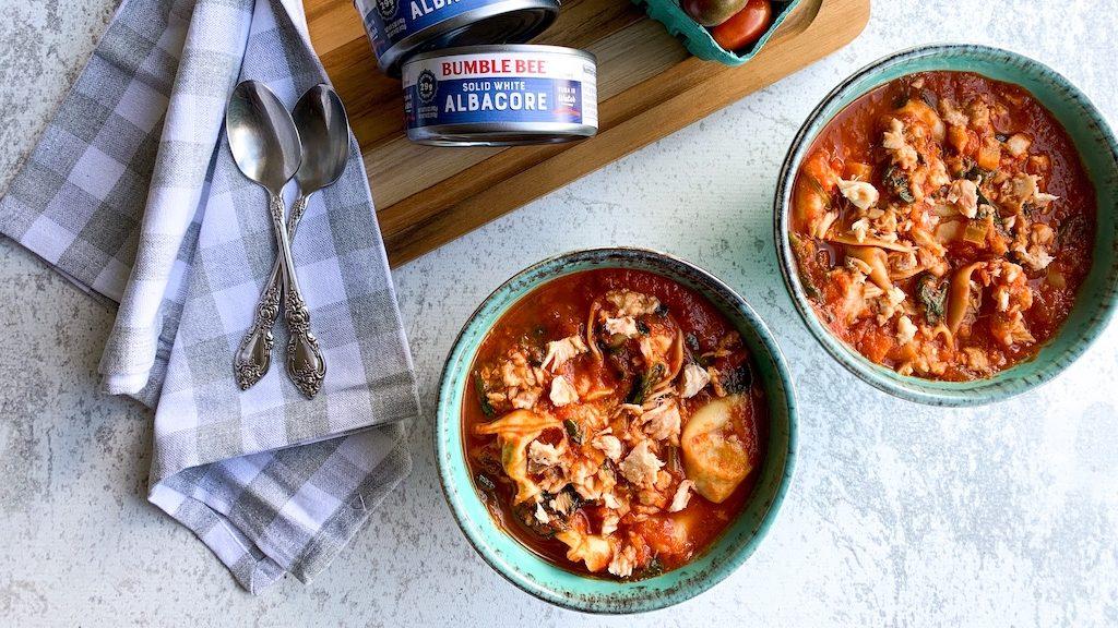 Tuna & Tomato Soup