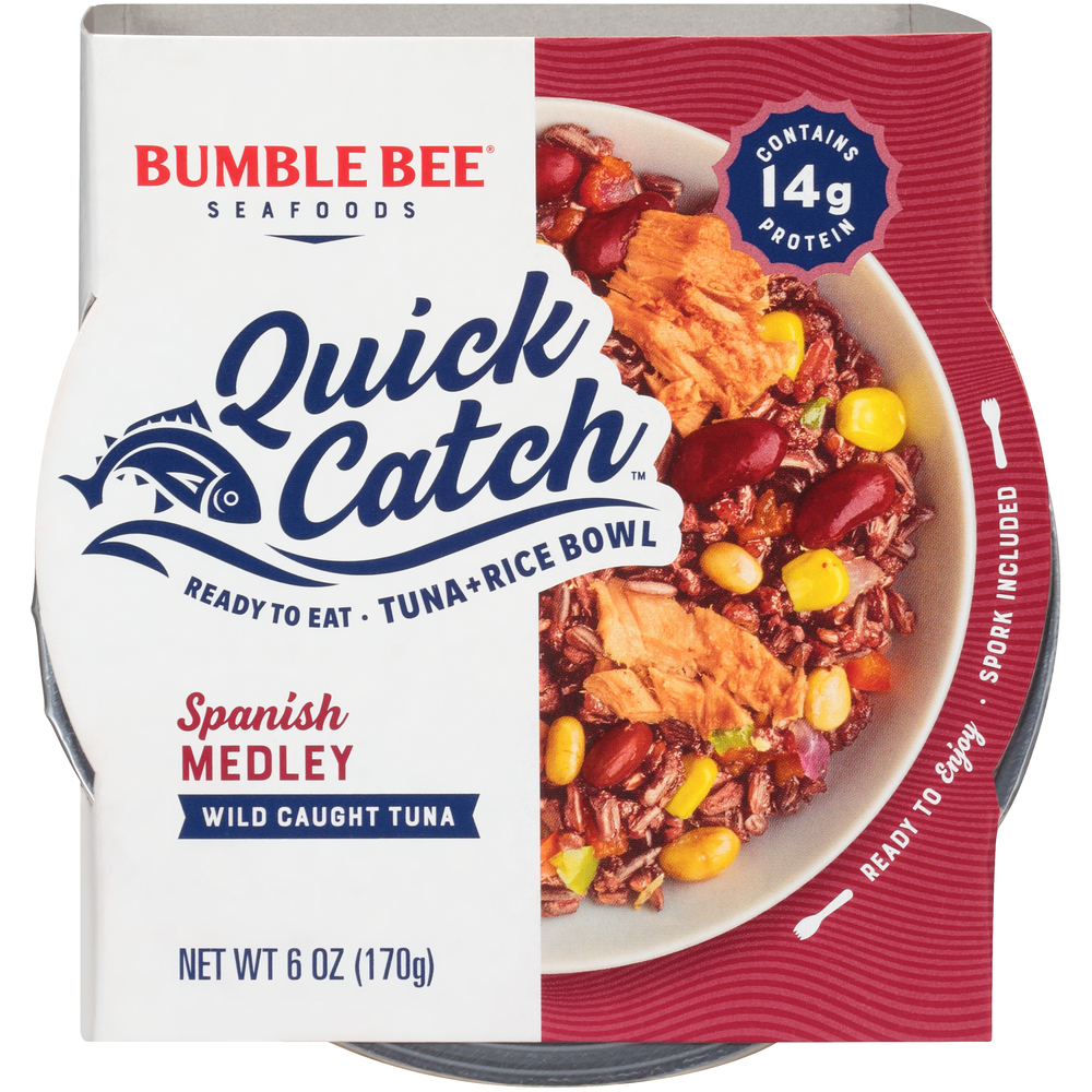 BUMBLE BEE® Quick Catch™ Spanish Medley Tuna