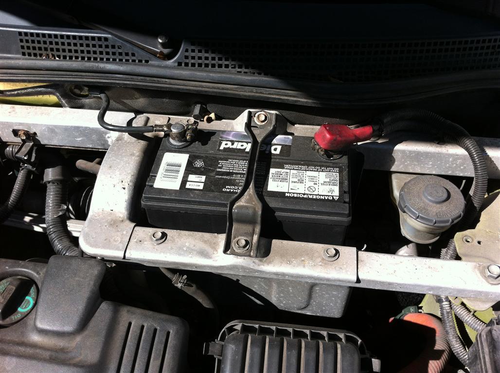 2004 Toyota Highlander Wiring Diagram Honda Insight 2000 2006 Battery Replacement