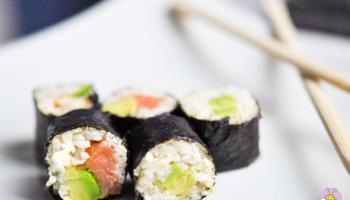 Sushi Maki ketogen und Low Carb