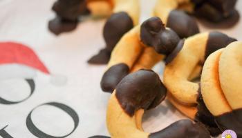 Keto Linzer Kipferl ohne Mehl und ohne Zucker