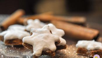 Ketogene Zimtsterne mehlfrei und zuckerfrei
