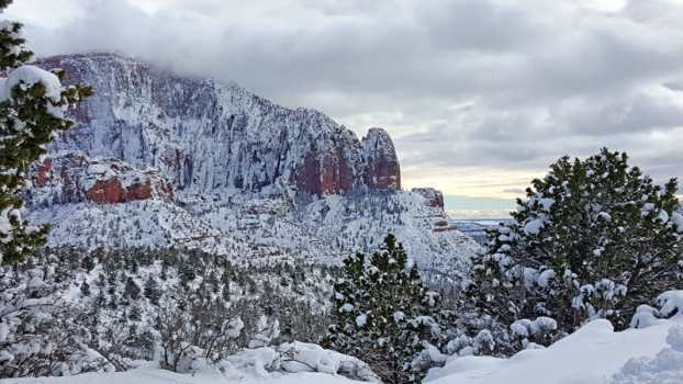 Kolob Canyon in Winter