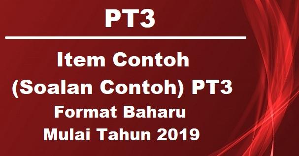 Item Contoh (Soalan Contoh) Reka Bentuk dan Teknologi (RBT