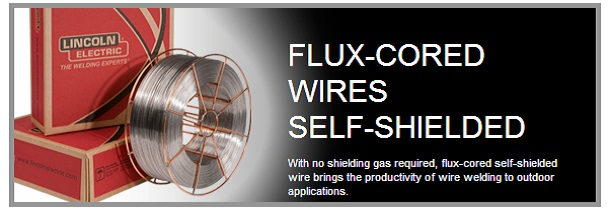 Flux-Cored Wires - Self-Shielded