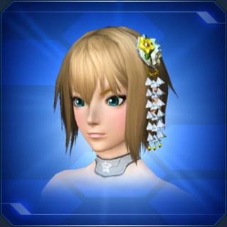 白かんざし White Ornate Hairpin