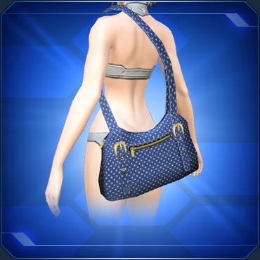 ブルーショルダーバッグBlue Shoulder Bag