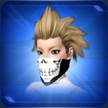 スカルバンダナマスクB Skull Bandana Mask B