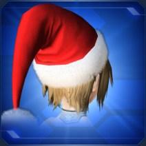 レッドパーティーサンタ帽 Red Party Santa Hat