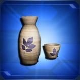 とっくり&おちょこ Sake Flask & Cup