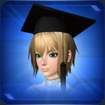 黒角帽 Black Graduate Cap