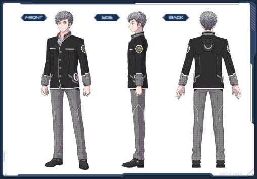 Nostalgic Student Uniform M