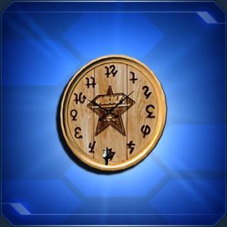 ウッディクロックA Woody Clock A