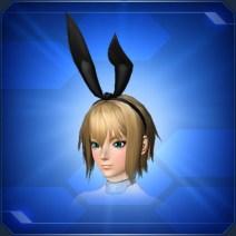 バニーリボン 黒 Black Bunny Ribbon