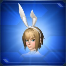 バニーリボン 白 White Bunny Ribbon