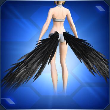 アンダーウィング 黒 Black Under Wings