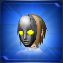 ロボ仮面 灰Gray Robo Mask