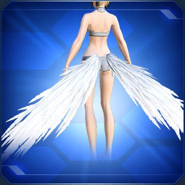アンダーウィング 白 White Under Wings